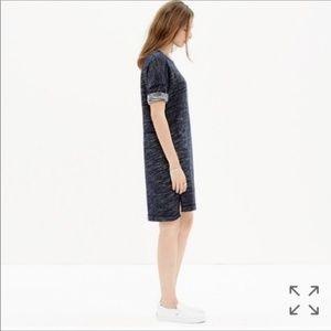 Madewell Dresses - Madewell Textured Sweatshirt Dress